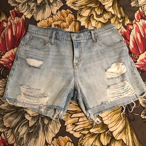 Gap Distressed Denim Jean Shorts, 5""